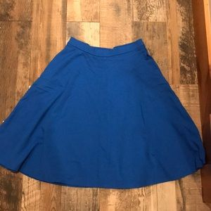 Beautiful Blue Aline skirt